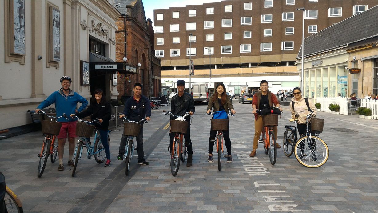 sightseeing bike tour glasgow