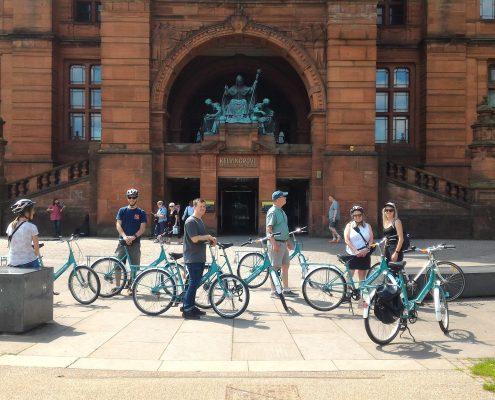 bike tours glasgow sightseeing at kelvinhall