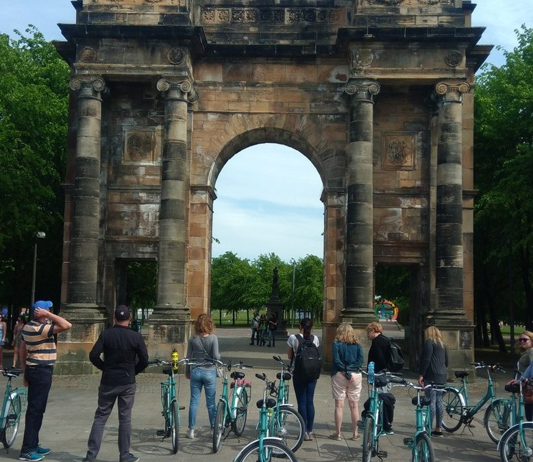 Glasgow Bike Tours Welcomes Radio Scotland to Glasgow
