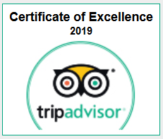 Glasgow Bike Tours certificate of excellence
