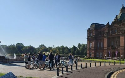 Why a Bike Tour is Better than a Walking Tour of Glasgow
